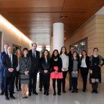 Auvergne-Rhône-Alpes delegation visits REACT
