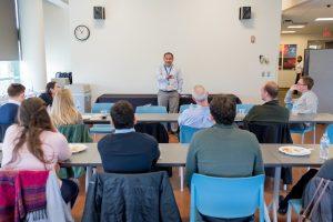 REACT Students Visit Labs at Solvay