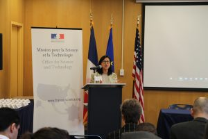 Opening by Minh-Hà Pham, Counselor for Science and Technology, Embassy of France