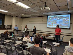 REACT Students Give Talks at BMC, Villanova