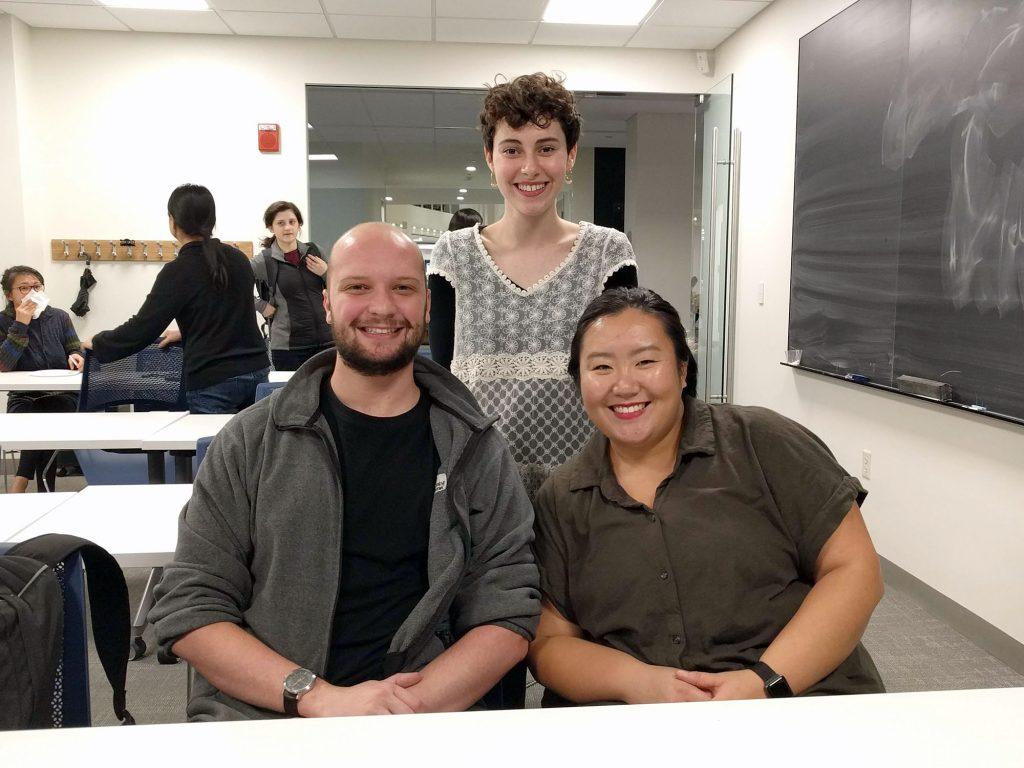 BMC Team (L-R): Ben Paren, Natalie Schalick, Emily Lin